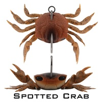 Crab - Single Hook Model - 85mm (3.35 inch) - 21 Grams (0.74 ounce)