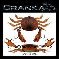 Crab Treble Hook Model - 50mm - Heavy 5.9 Gram - SPOTTED CRAB