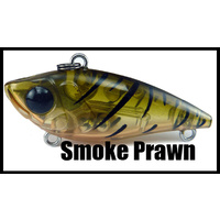 Vibe - 40mm (1.57 inch) - Sinking - 3.6 Grams (0.127 ounce) - SMOKE PRAWN