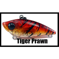 Vibe - 40mm (1.57 inch) - Sinking - 3.6 Grams (0.127 ounce) - TIGER PRAWN